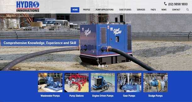 Hydro Innovations New Site
