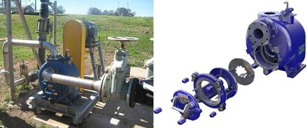 self-priming pump