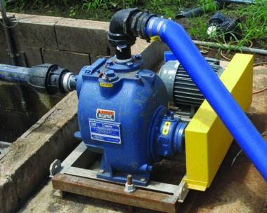Self Priming Wastewater Pump