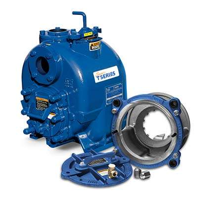 Gorman-Rupp Super T with Eradicator wastewater pump