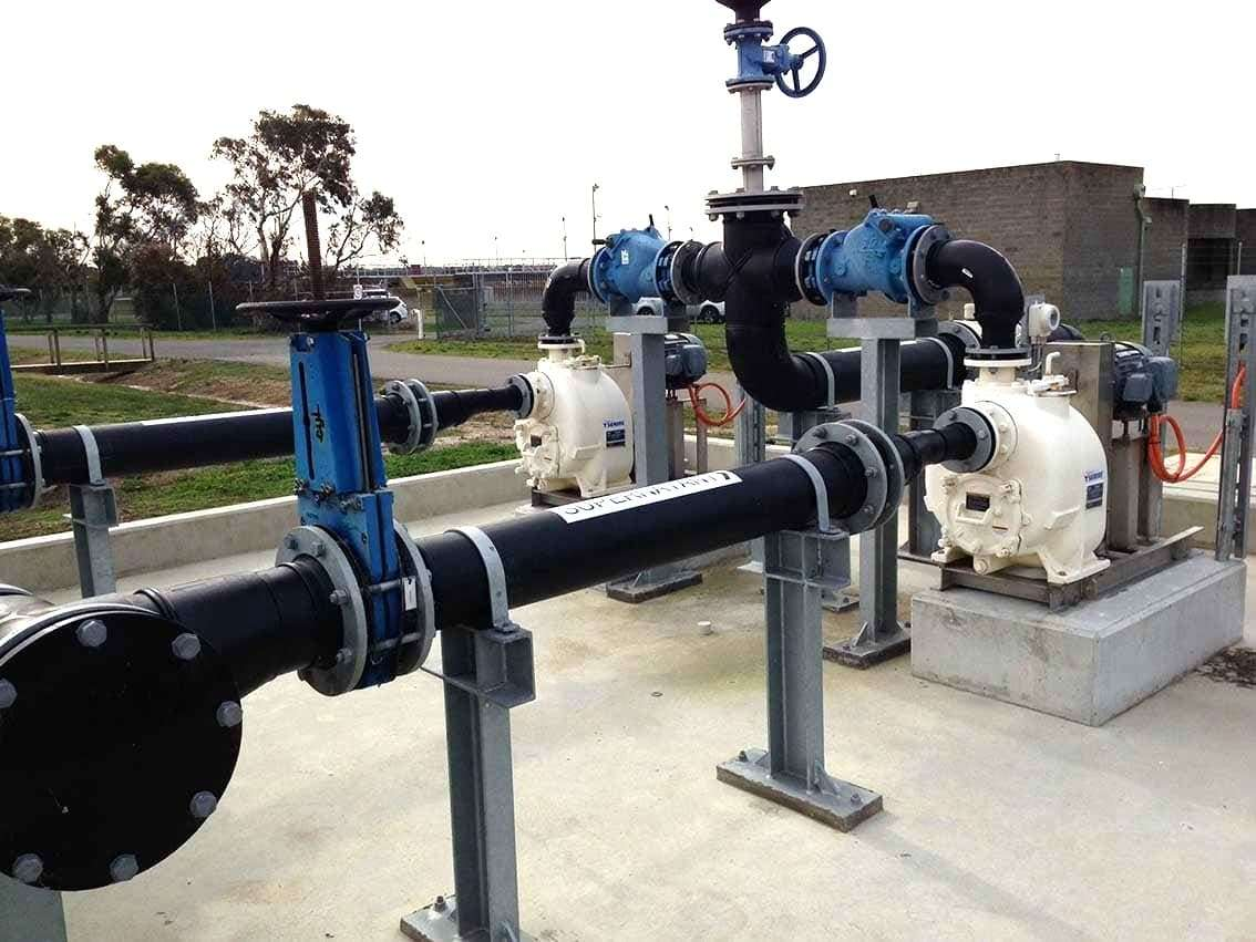 T3A61S-B Self Priming Sewage Pump