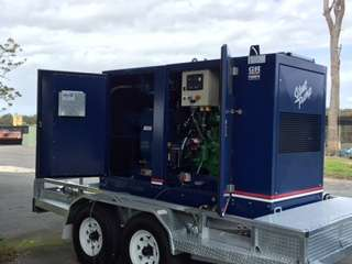 Versatile Mobile Sewage Bypass Pump for Council