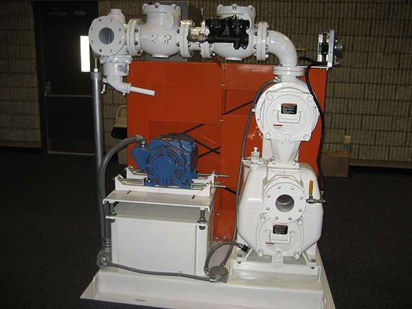 Typical VS3B60-B 2-Stage pump