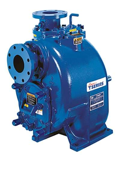 Self-Priming Wastewater Pump