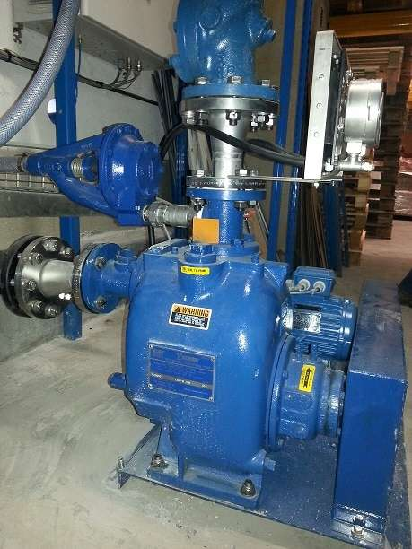 Gorman-Rupp Sewage Pump for Beef Process Plant