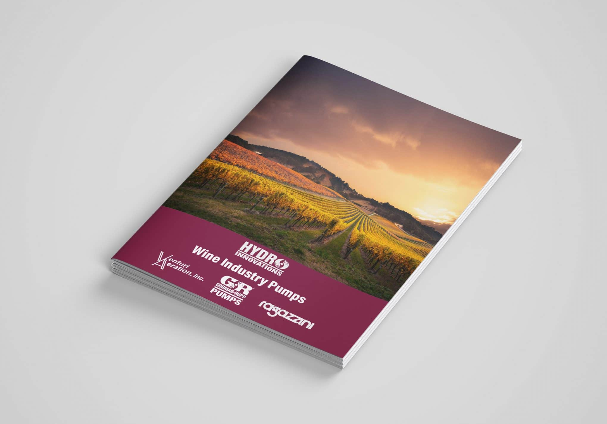 Hydro Innovations Wine Industry Pumping brochure cover