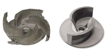 gorman-rupp-worn-and-new-impeller-maintenance-troubleshoot
