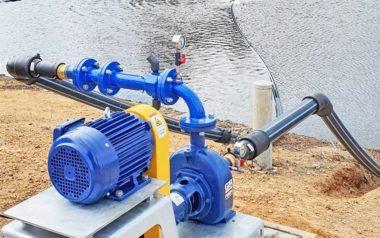 Venturi Aerator – reliable bank mounted lagoon areation