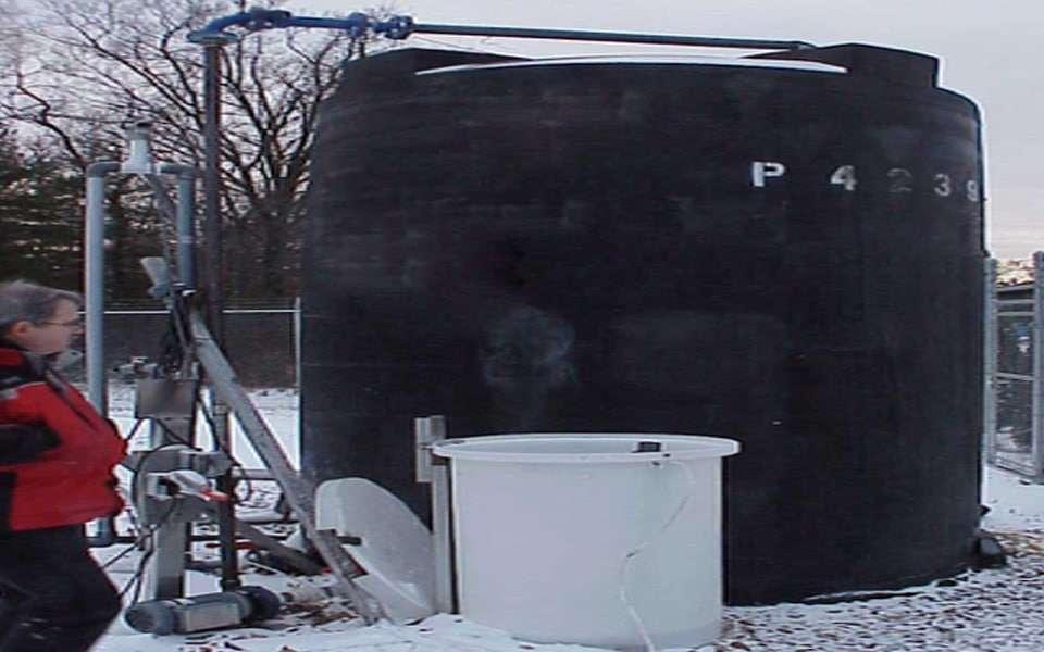Venturi Aerator reduces Ammonia