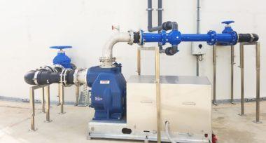 Venturi Aerator reduces odour using simple aeration