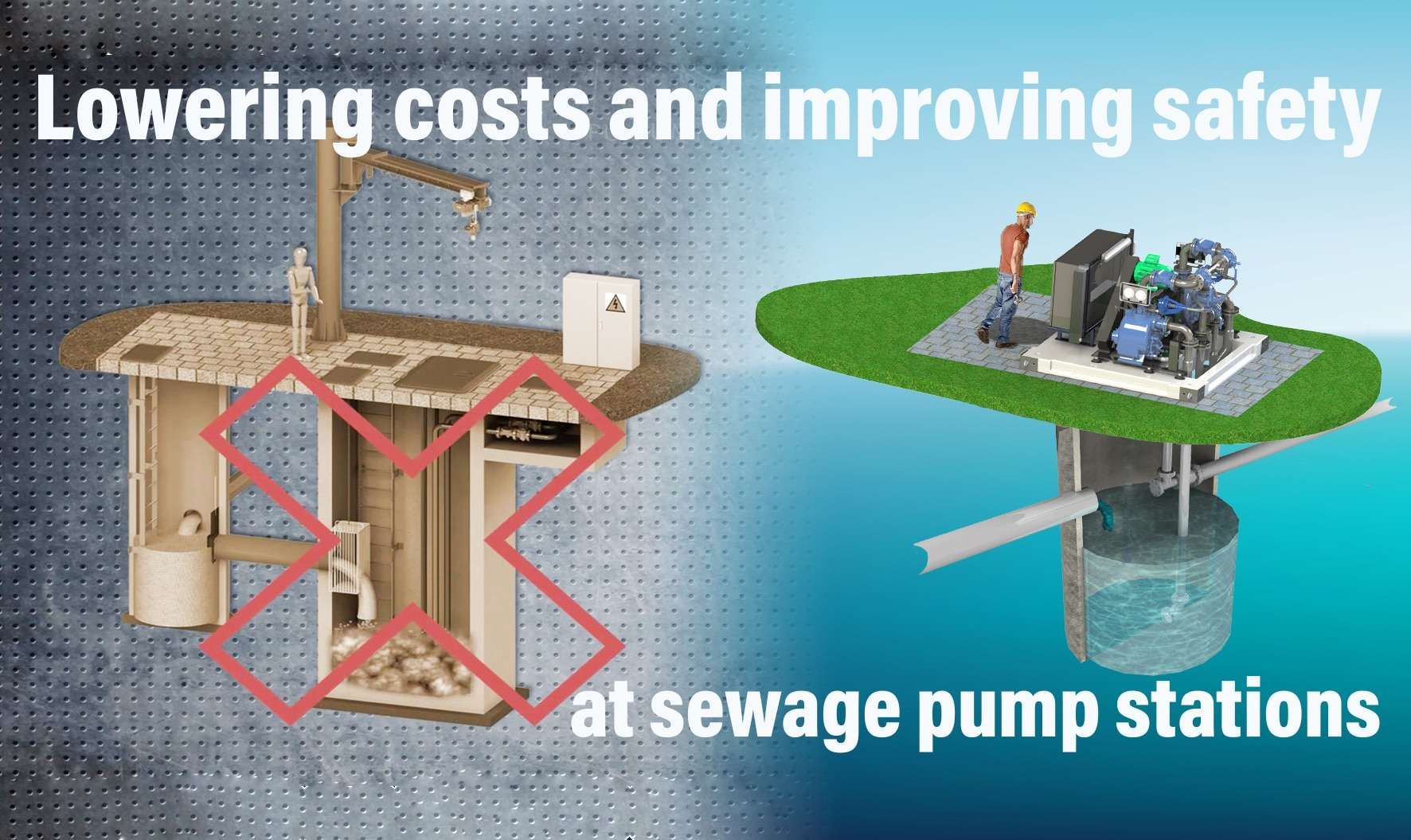 Advantages of above ground self priming pumps in comparison to submersible pumps