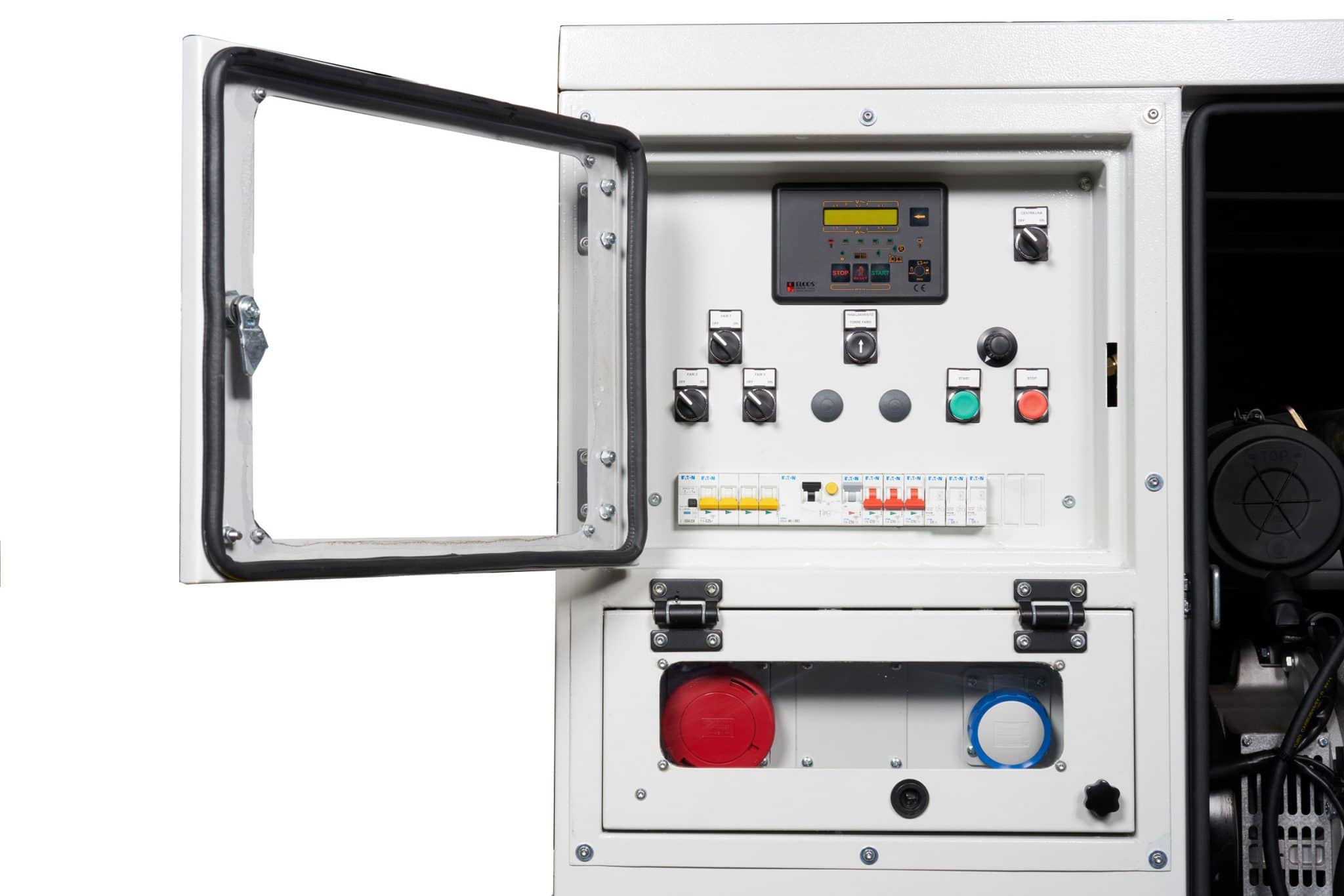 Lampo-control-panel-emergency response trailer unit