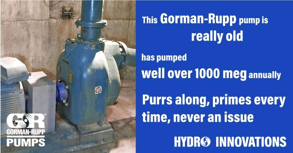 Gorman-Rupp pumps still in operation after 50 years