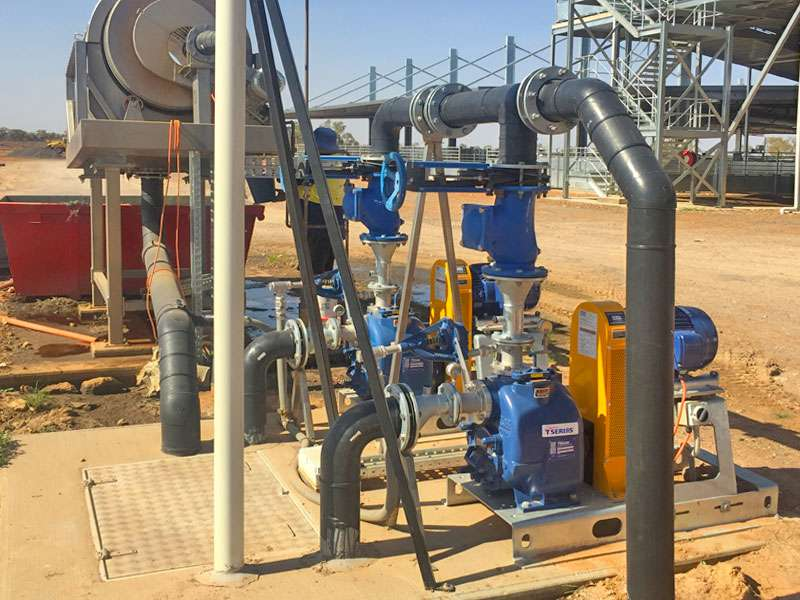 north bourke abattoir using gorman-rupp rugged and reliable centrifugal self priming pumps
