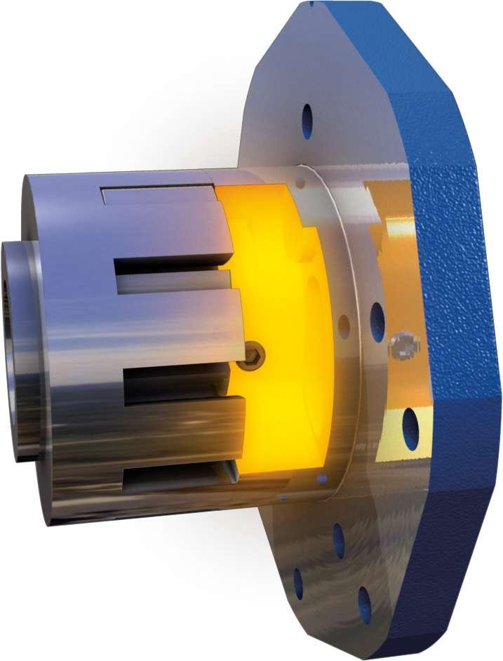 Deep End Feed rotary gear pump