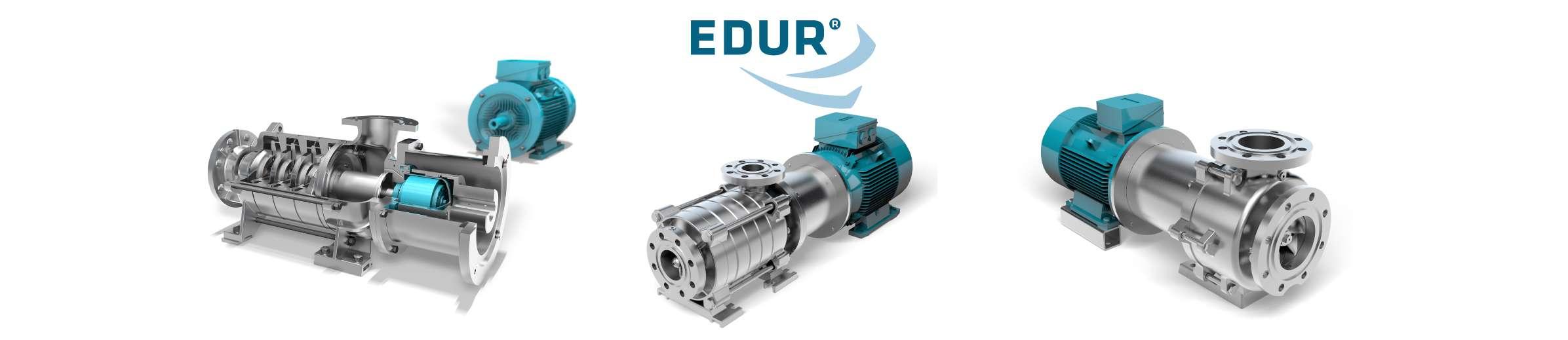EDUR German made DAF pumps