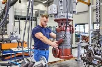 EDUR-Pumps being mnaufactured in German Factory