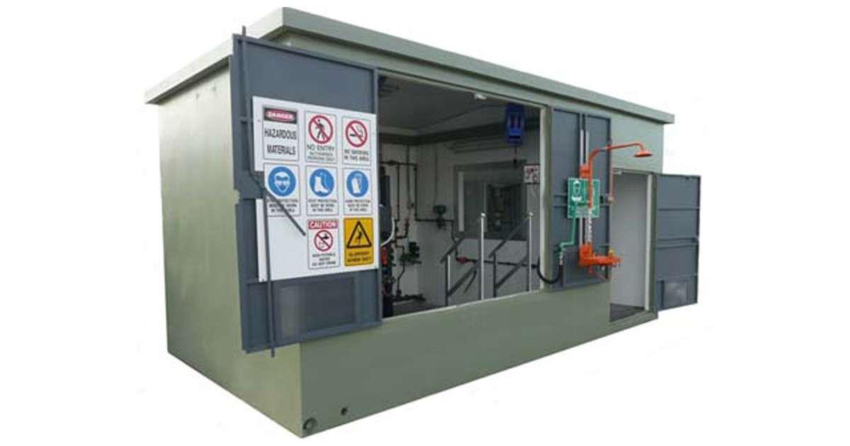Gorman-Rupp ES base mounted pump enclosure