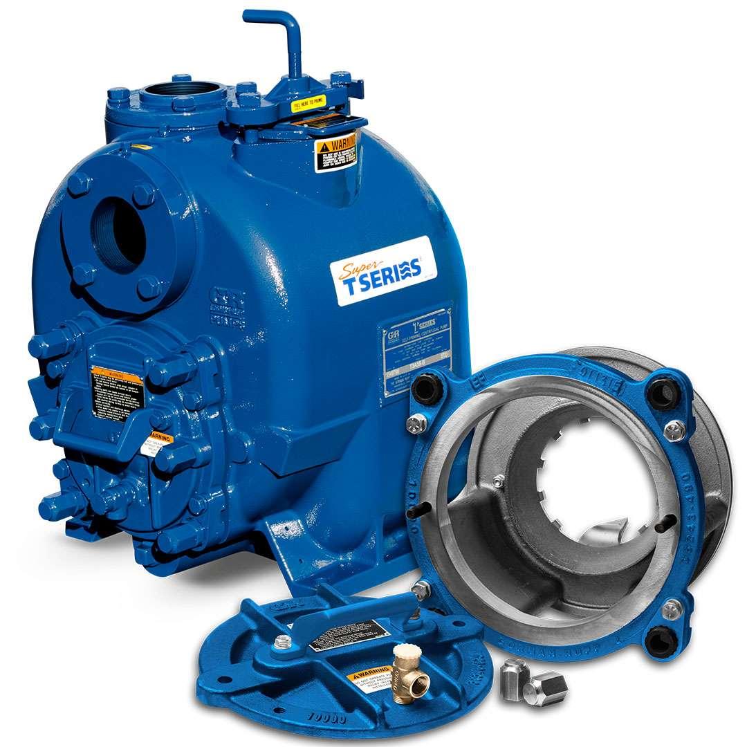 Gorman-Rupp Super T Eradicator pumpm with superior solids handling