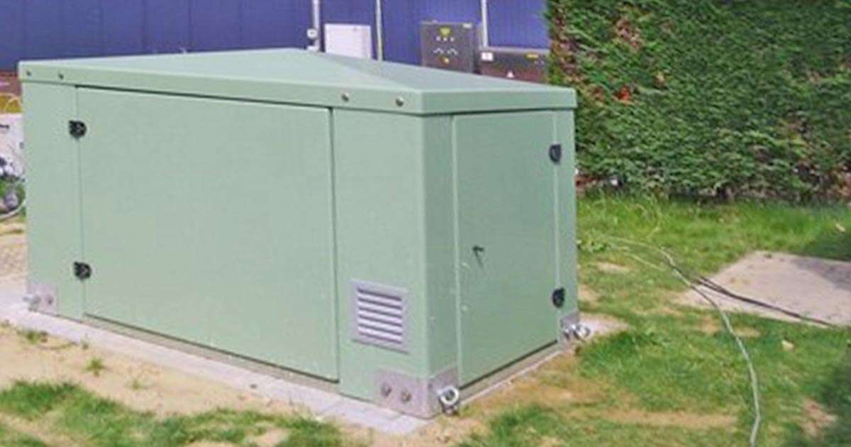 Gorman-Rupp pump station enclosure appearance options