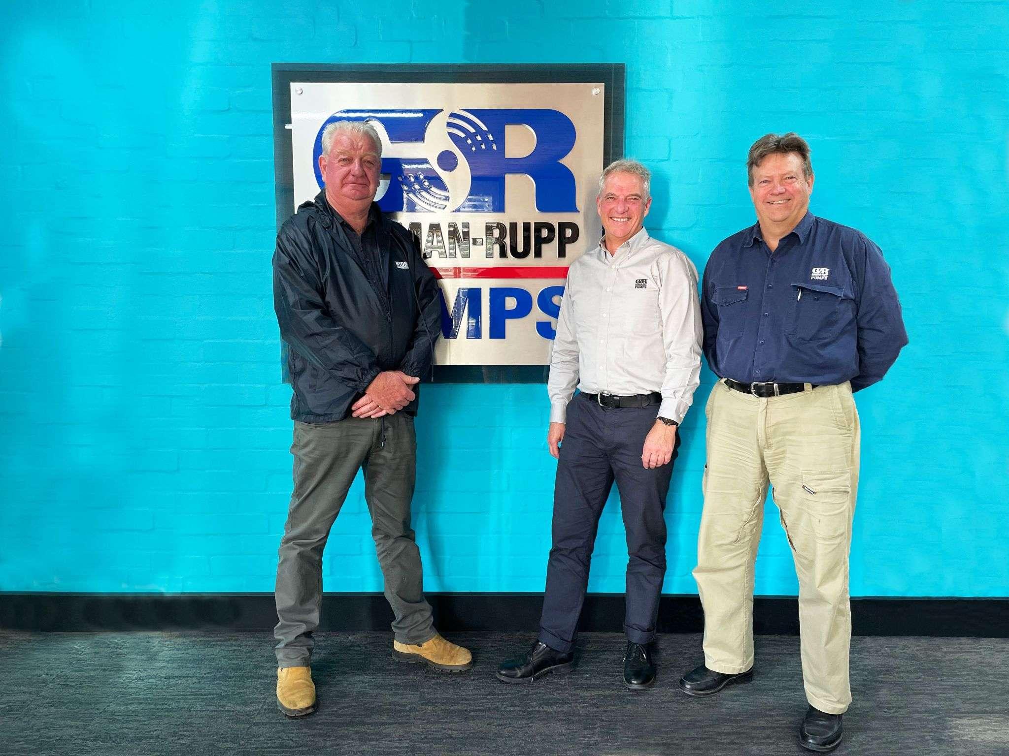 Gorman-Rupp and Hydro Innovations representatives