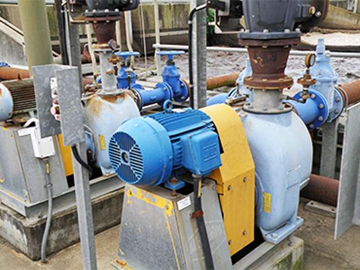 Hydro Innovations sludge pumps