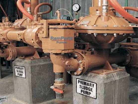 Ramparts sludge pump for Australian Industry