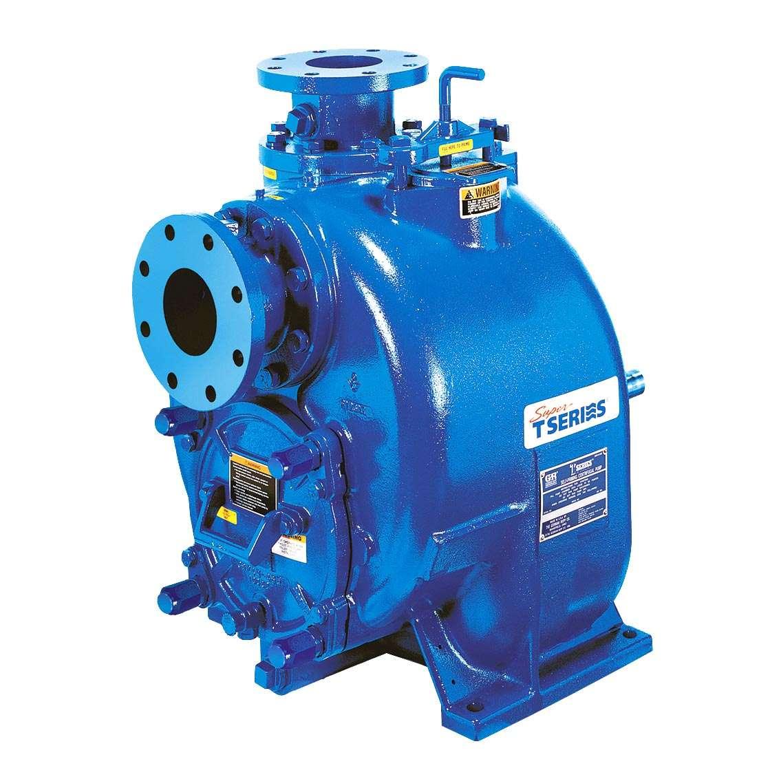 Super T Series Gorman-Rupp self-priming pump