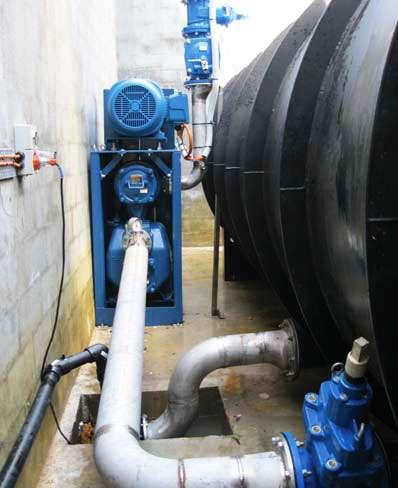 Gorman-Rupp VS3A60 vacuum sewage pump for bundaberg council