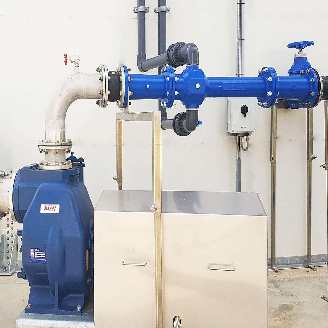 Venturi-Aerator easy access waste water aeration