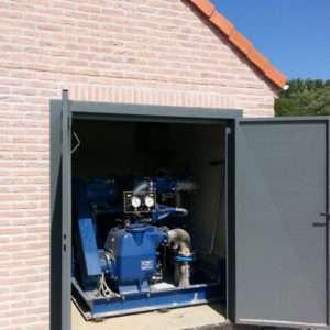 ES Base Mounted Sewage Pump Station