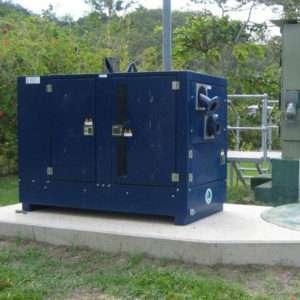 Emergency bypass auto-start sewage pump unit