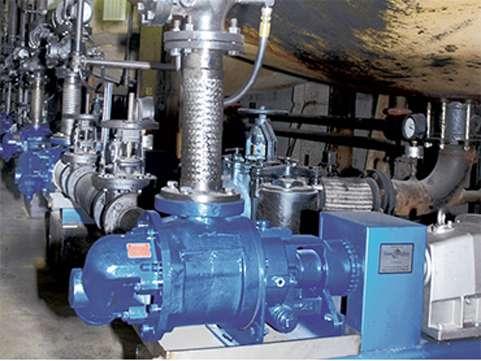 Gorman-Rupp rotary gear viscous fluid pump extreme duty