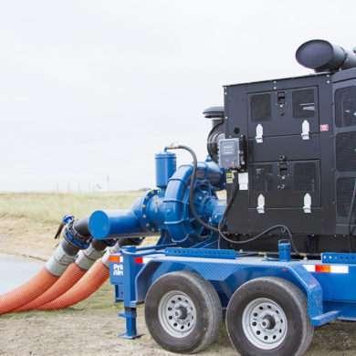 PA and PAH Series Prime Assist Dewatering Pump