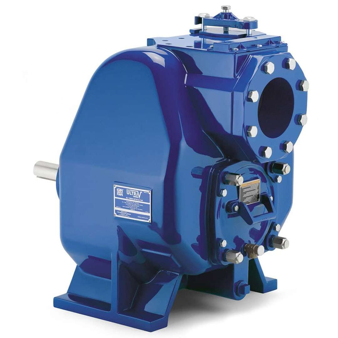 Ultra V self priming centrifugal wastewater and sewage pump